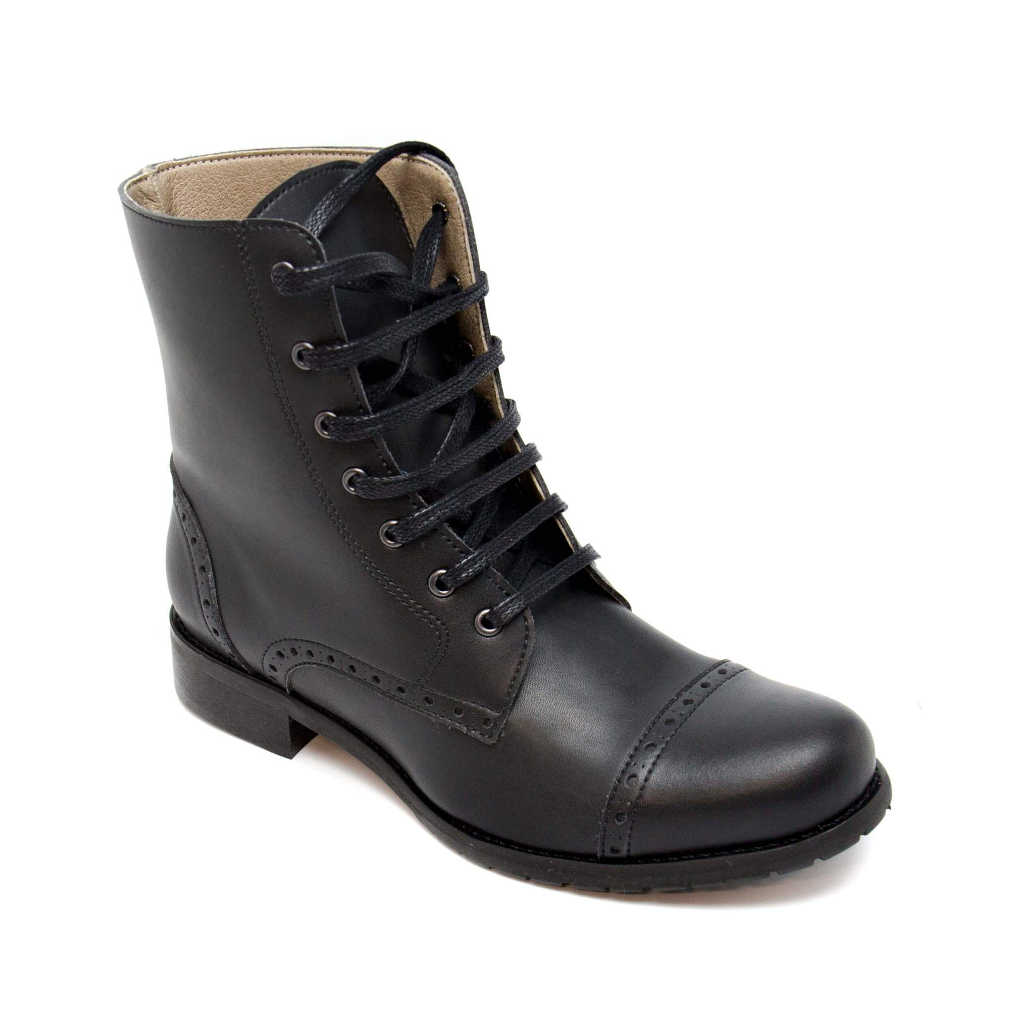 Alba Vegan Lace Up Boots, Women´s Sizes