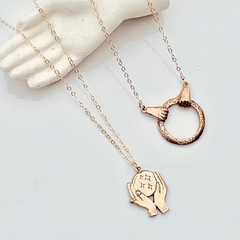 KISMET Fortune Necklace in Bronze or Silver