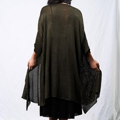 Bamboo Robe Kelp Green