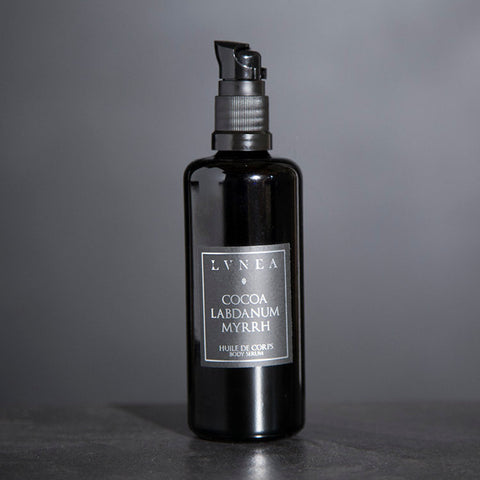 BODY SERUM - Cocoa, Labdanum, Myrrh - Natural Body Oil