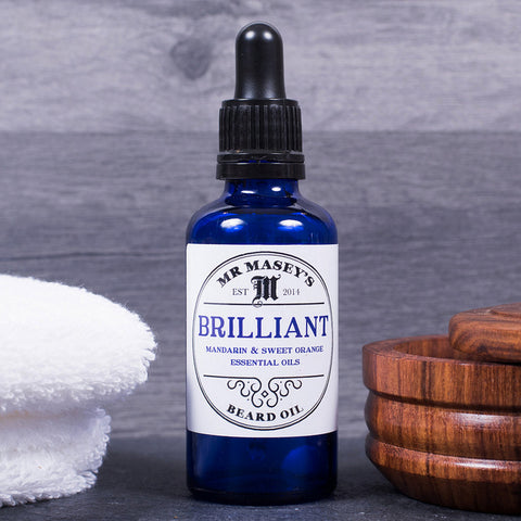 Beard Oil - Brilliant - Mandarin, Sweet Orange