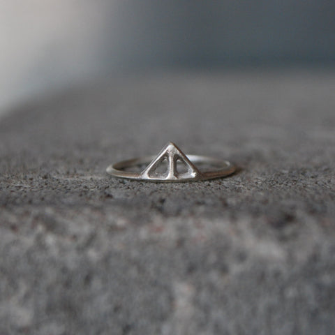 Taika Small Ring Silver