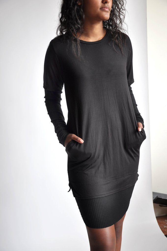 Eliad long sleeve top - Black