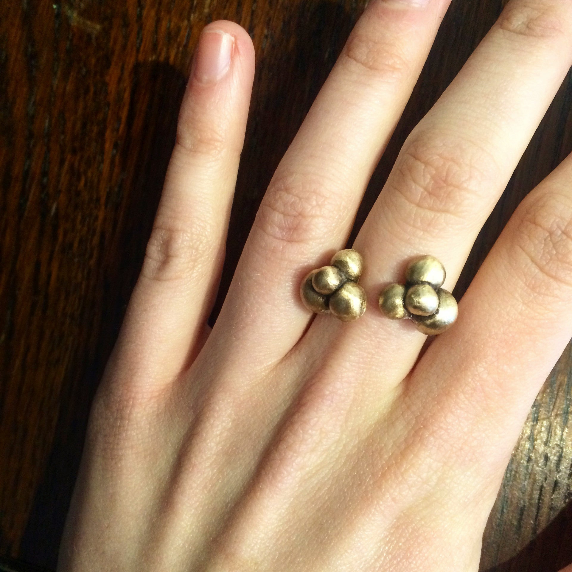 Cluster Ring Bronze