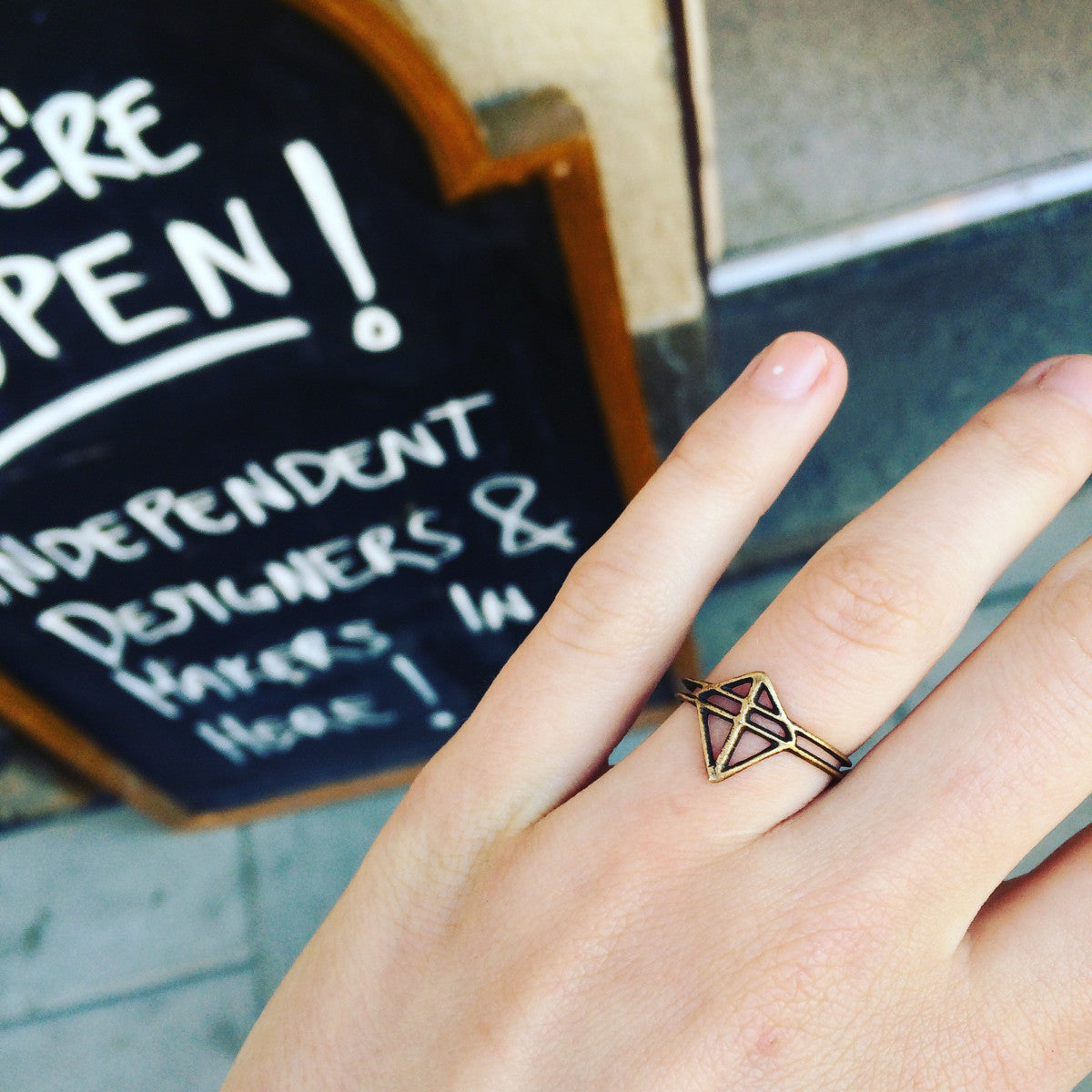 Pien Ruuti Ring Bronze