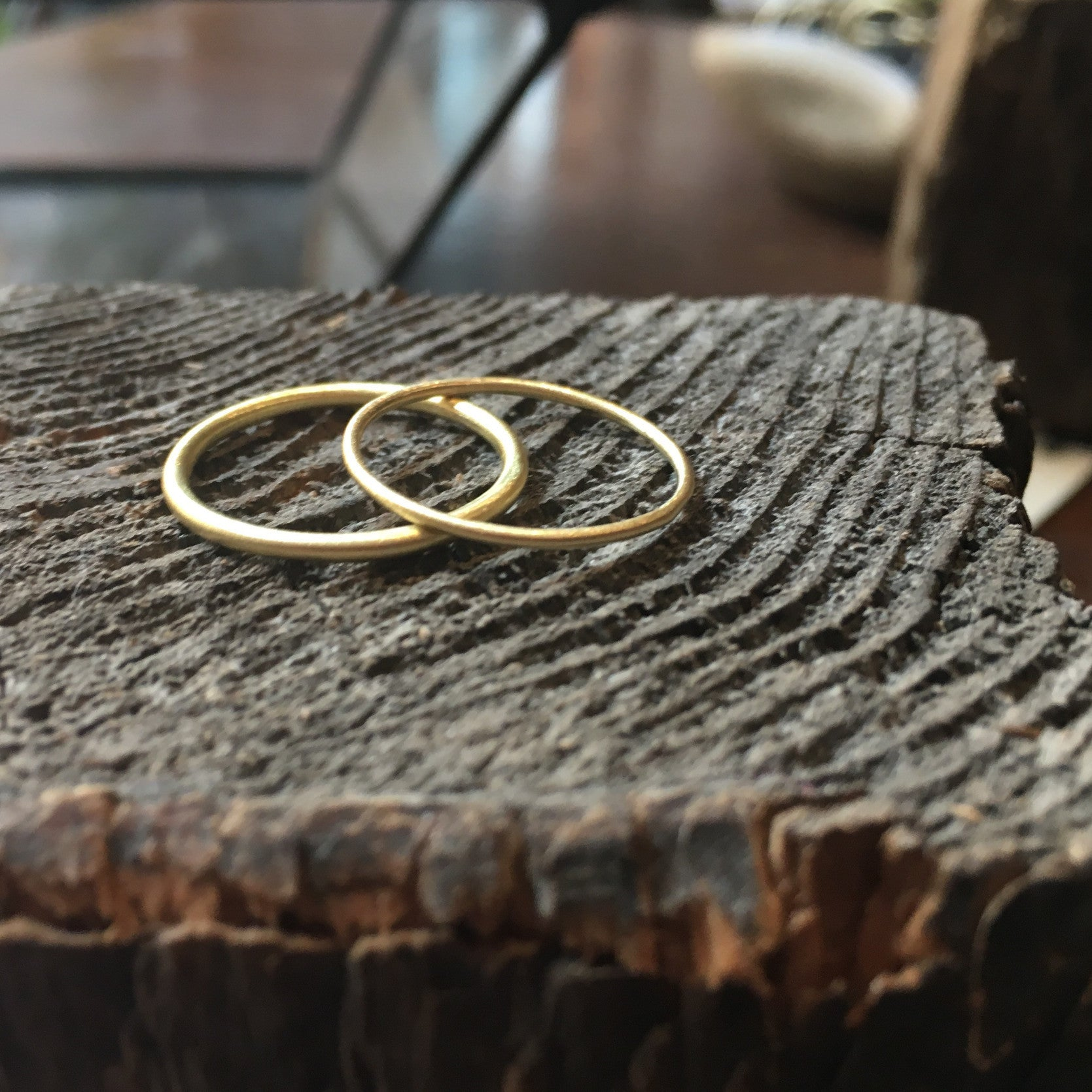 Classic Loop Ring Brass