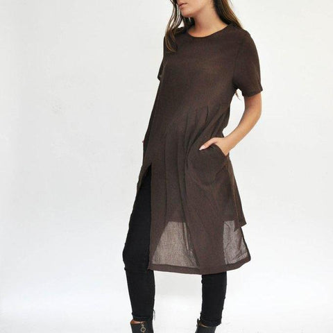 Tier Tunic - Umber