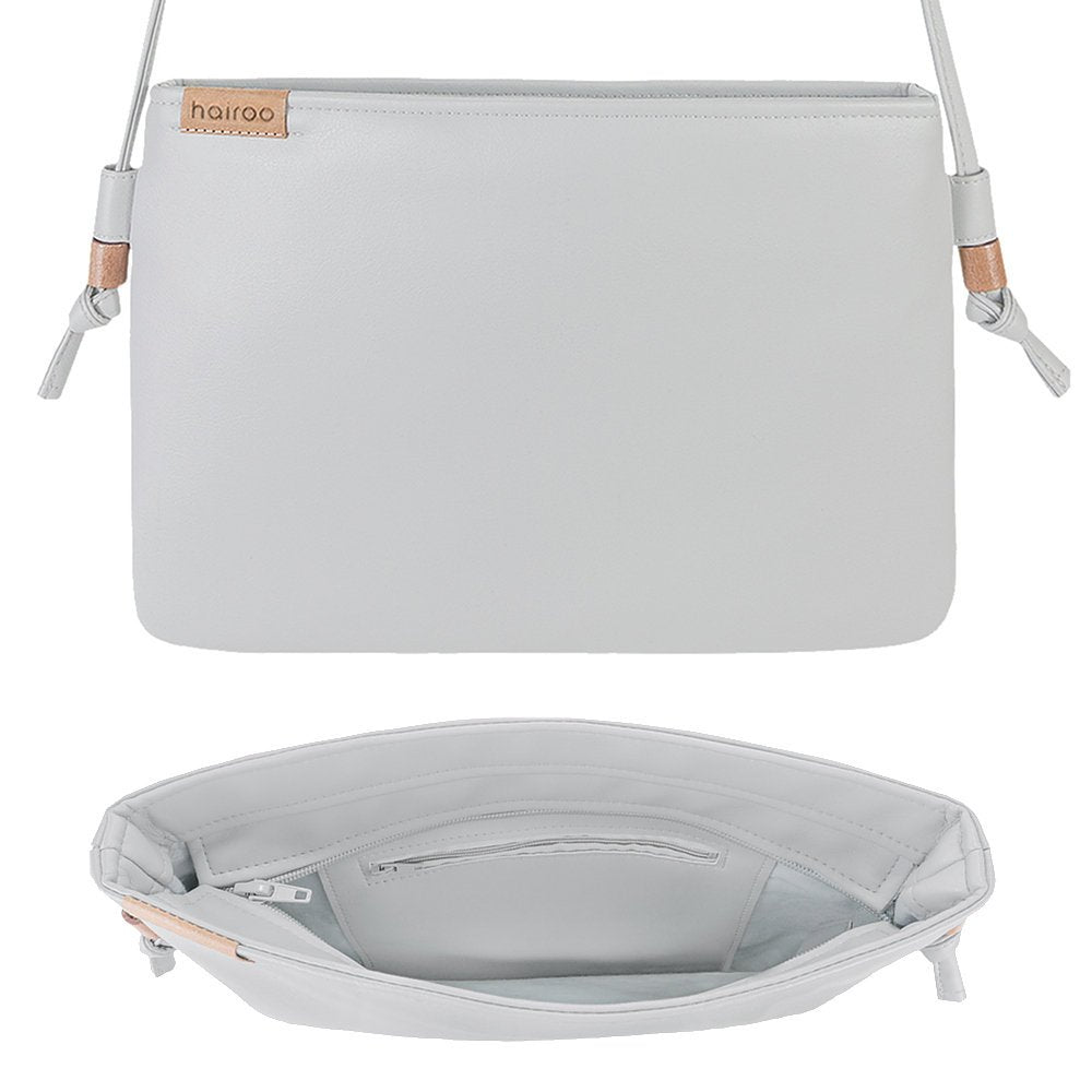 Nodo Mini Bag Light Grey Vegan Faux Leather