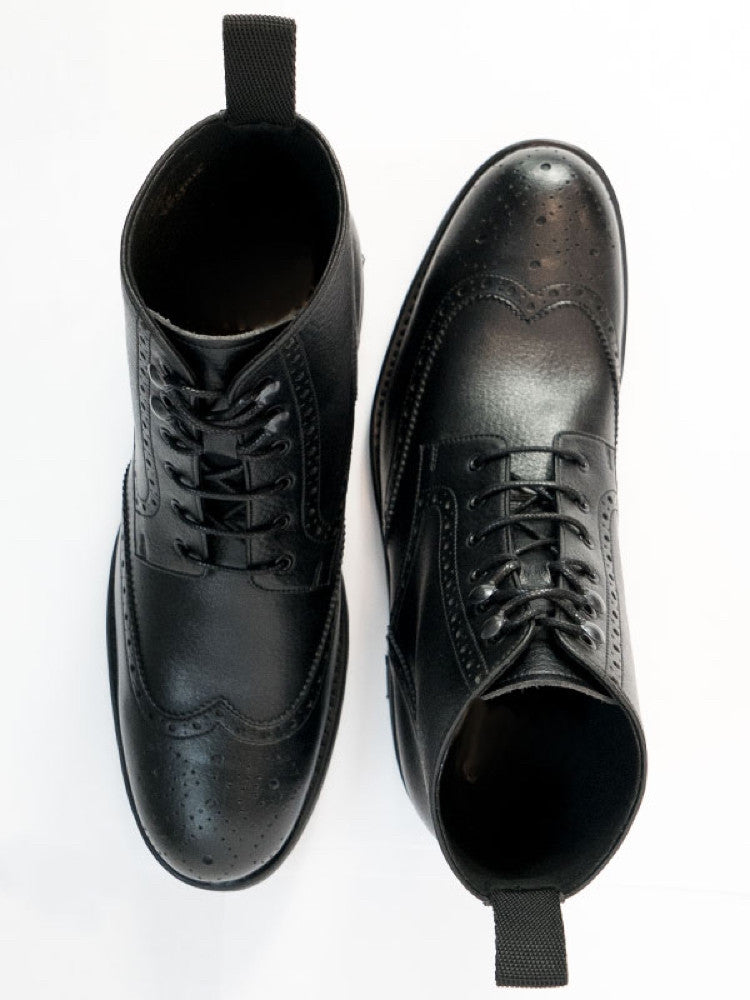 WVS BLACK Collection Brogue Boots - Men´s sizes