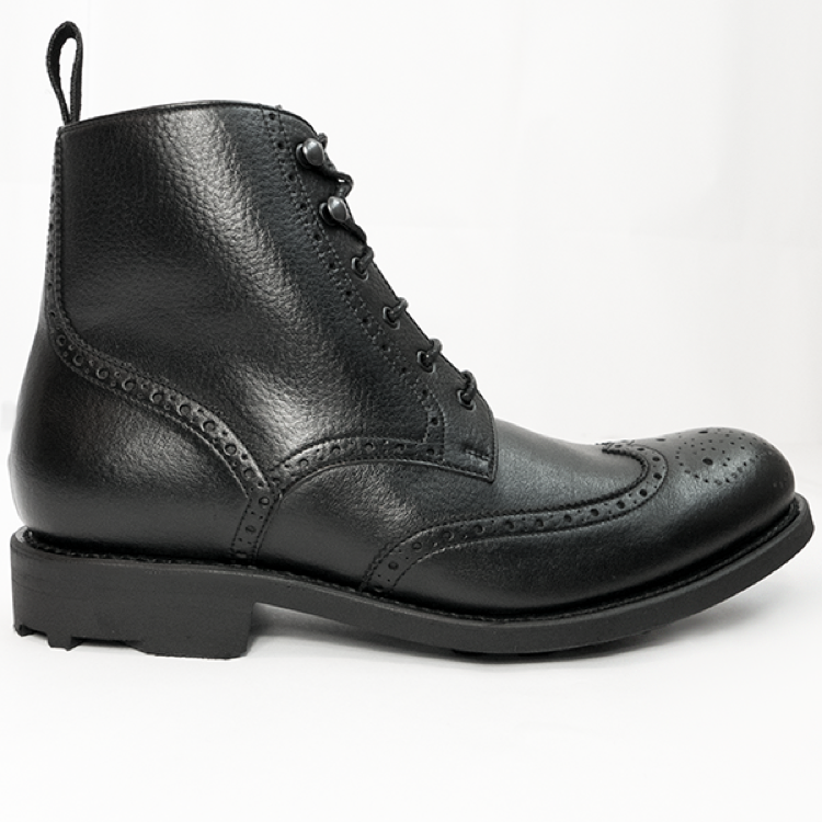 6be0a0766e5e WVS BLACK Collection Brogue Boots by Will's Vegan Shoes i Sverige ...