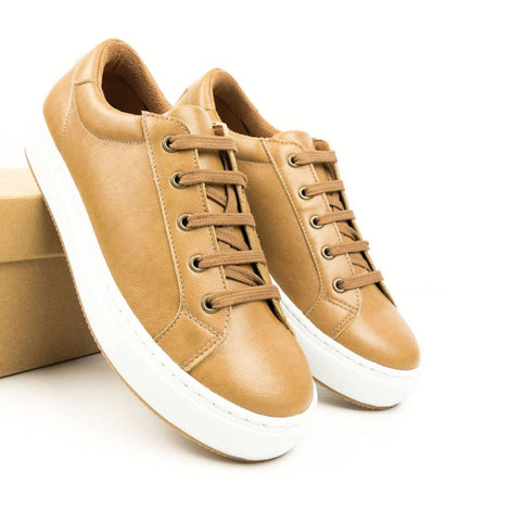 Smart Sneakers - Tan women's and men's sizes