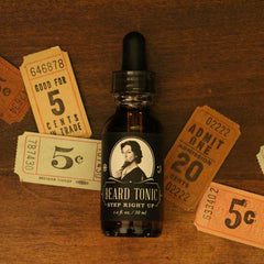 Step Right Up - Beard Oil