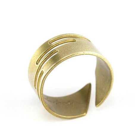 Cully Ring Adjustable Brass