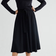 Black Tauret Skirt