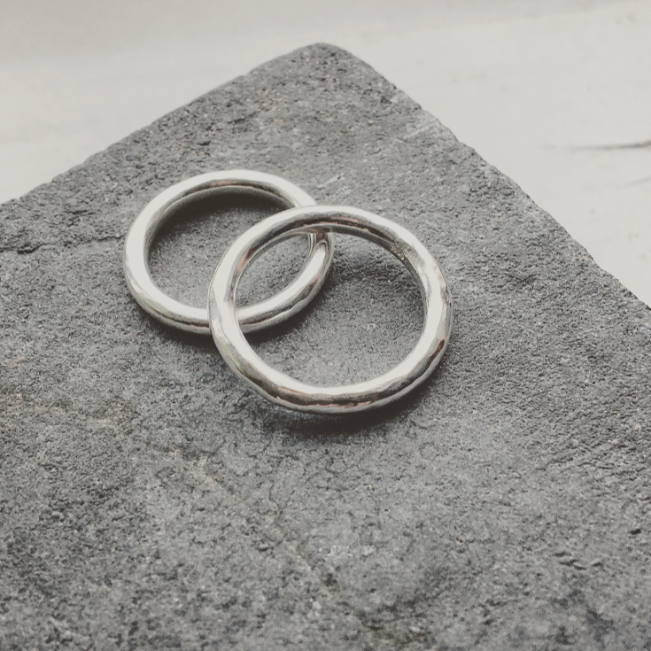 Loop Chunky Ring Silver