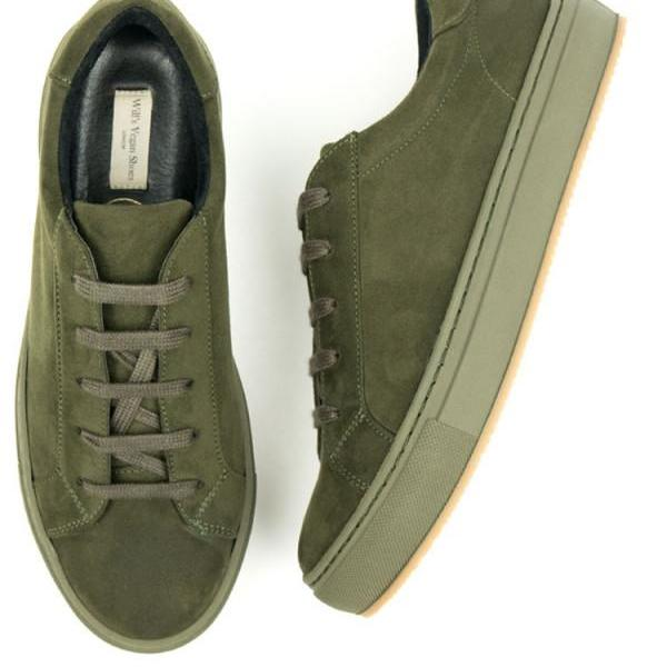 9e16f8d488 Colour Sneakers - Olive Women s Sizes Wills Vegan Shoes