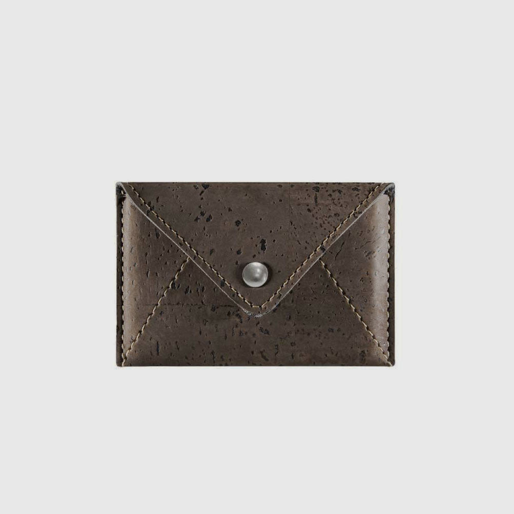 Cork Envelope Mini Wallet Light Brown