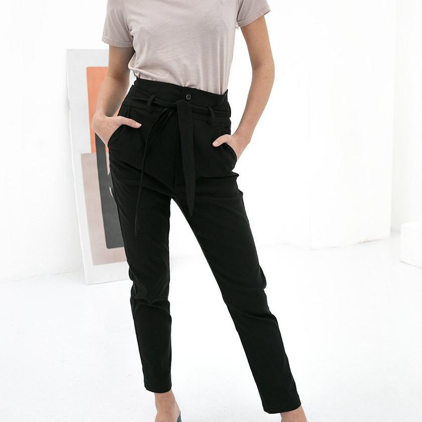 Dena Trousers Black