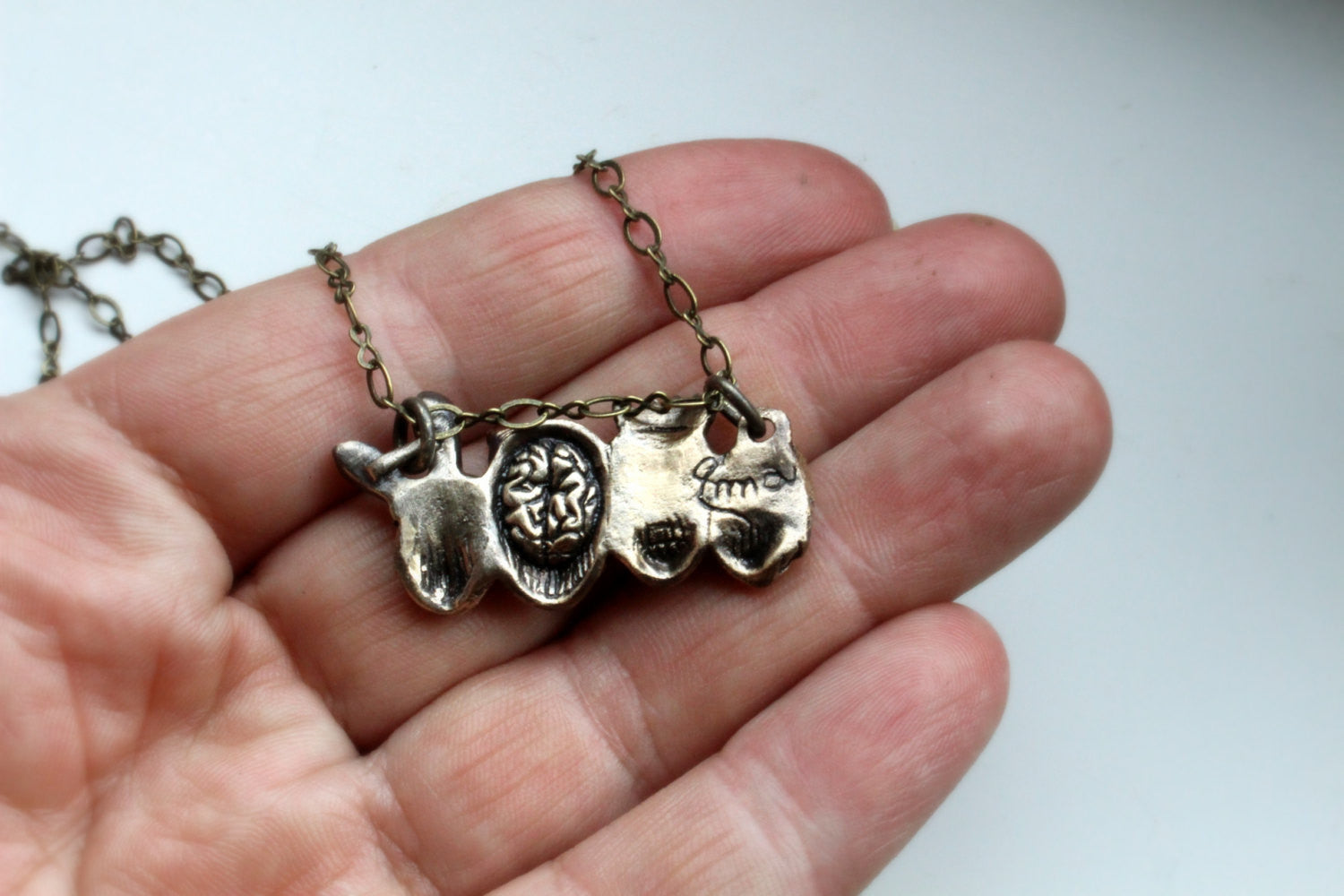 Party Skulls Necklace