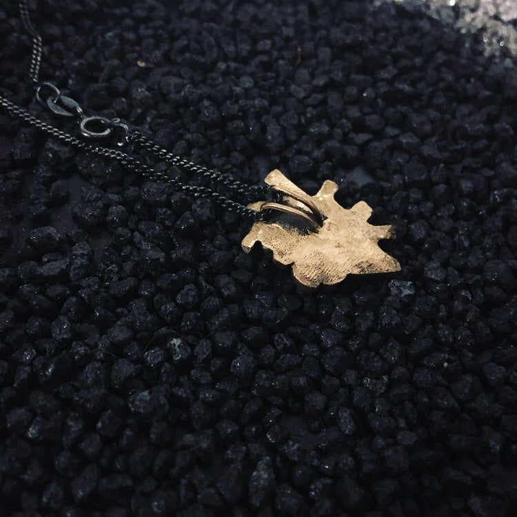 Vegan Necklace Bronze