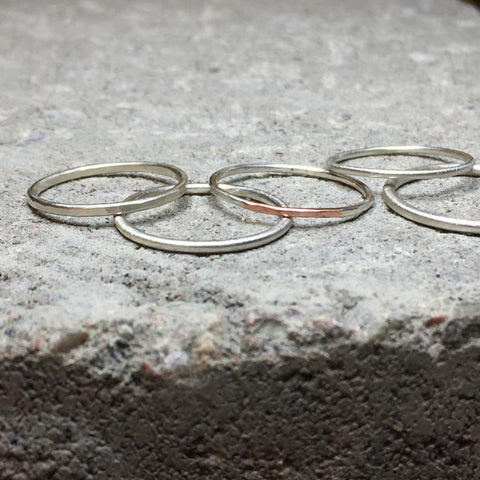 Loop Thin Ring Silver