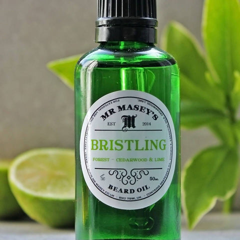 Beard Oil - Bristling Forest - Cedarwood and Lime