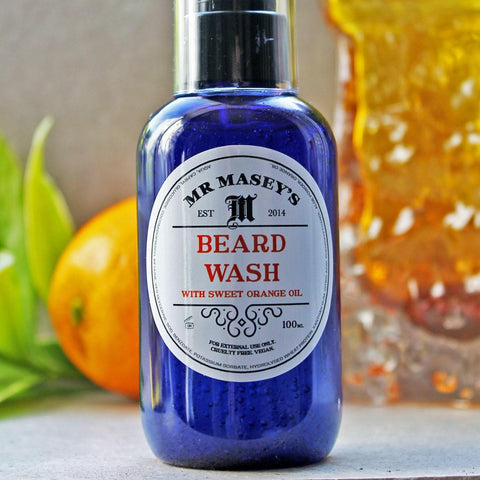 Beard Wash - Sweet Orange Oil