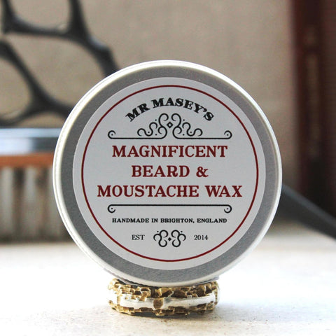 Beard & Moustache Wax - Holds, sculpts and styles