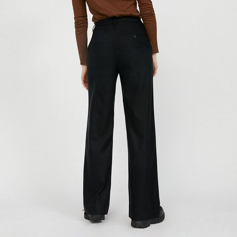 NAGISAA Trousers Black TENCEL Lyocell Mix