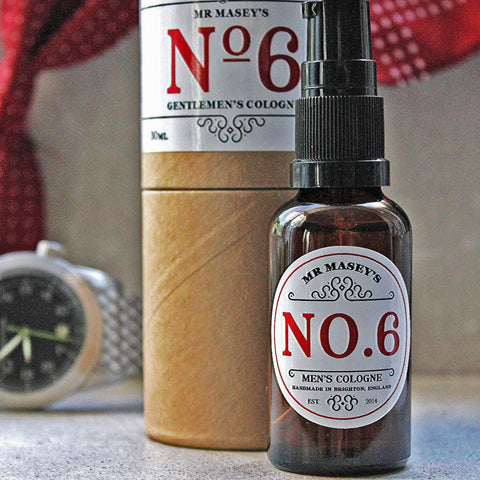 No.6 Cologne - Oud and Cedar