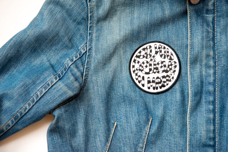 Globe Embroided Patch