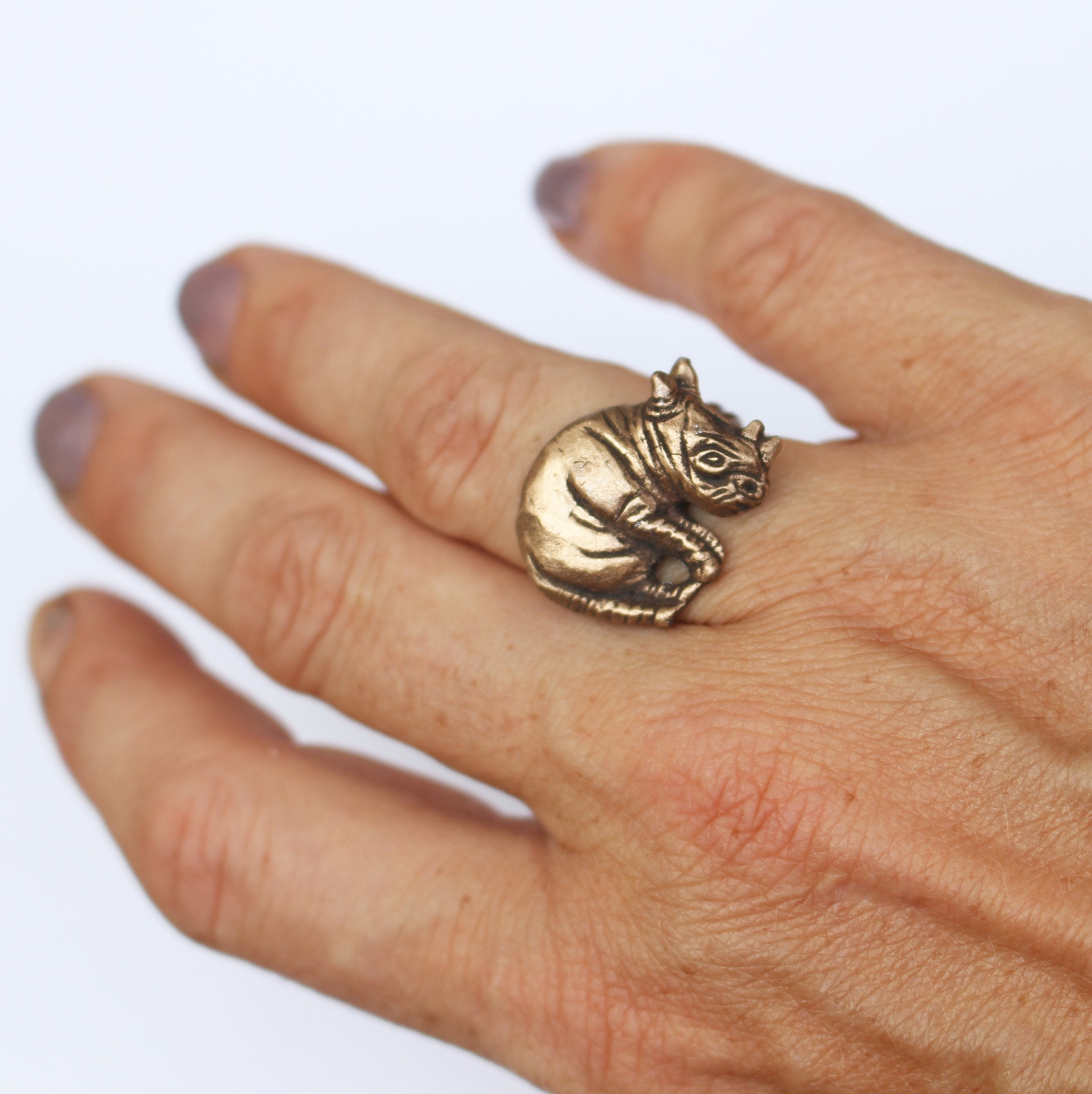 Rhinoceros ring