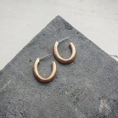 Runsas Hoop Earring Silver or Bronze