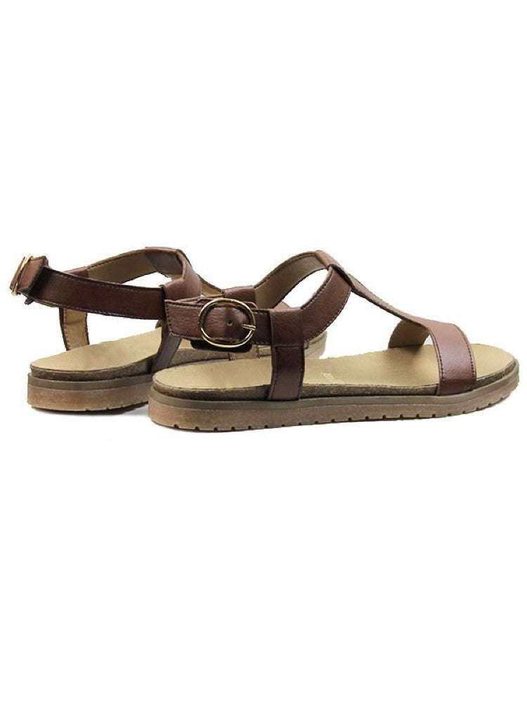 Footbed Sandals Brown
