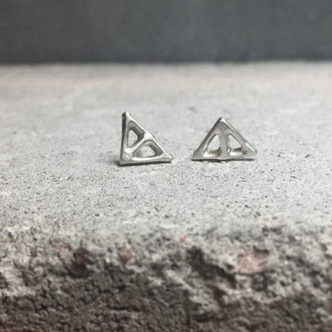 Taika Earring Silver or Bronze