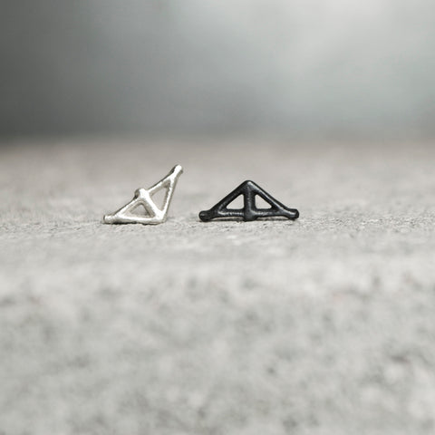Taika Earring Silver Small
