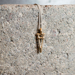 Taru Necklace Bronze