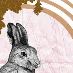The Young Hare Illustration (A4)