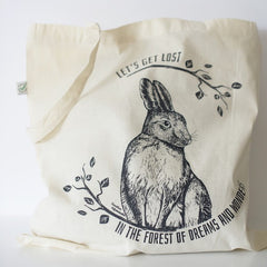 Tote bag The Young Hare