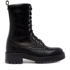 Mandy Vegan Zipper Boots Black Size 39 - 40