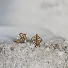 Pien Ruuti Earrings Bronze