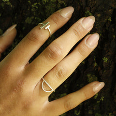 Viiva Ring Bronze