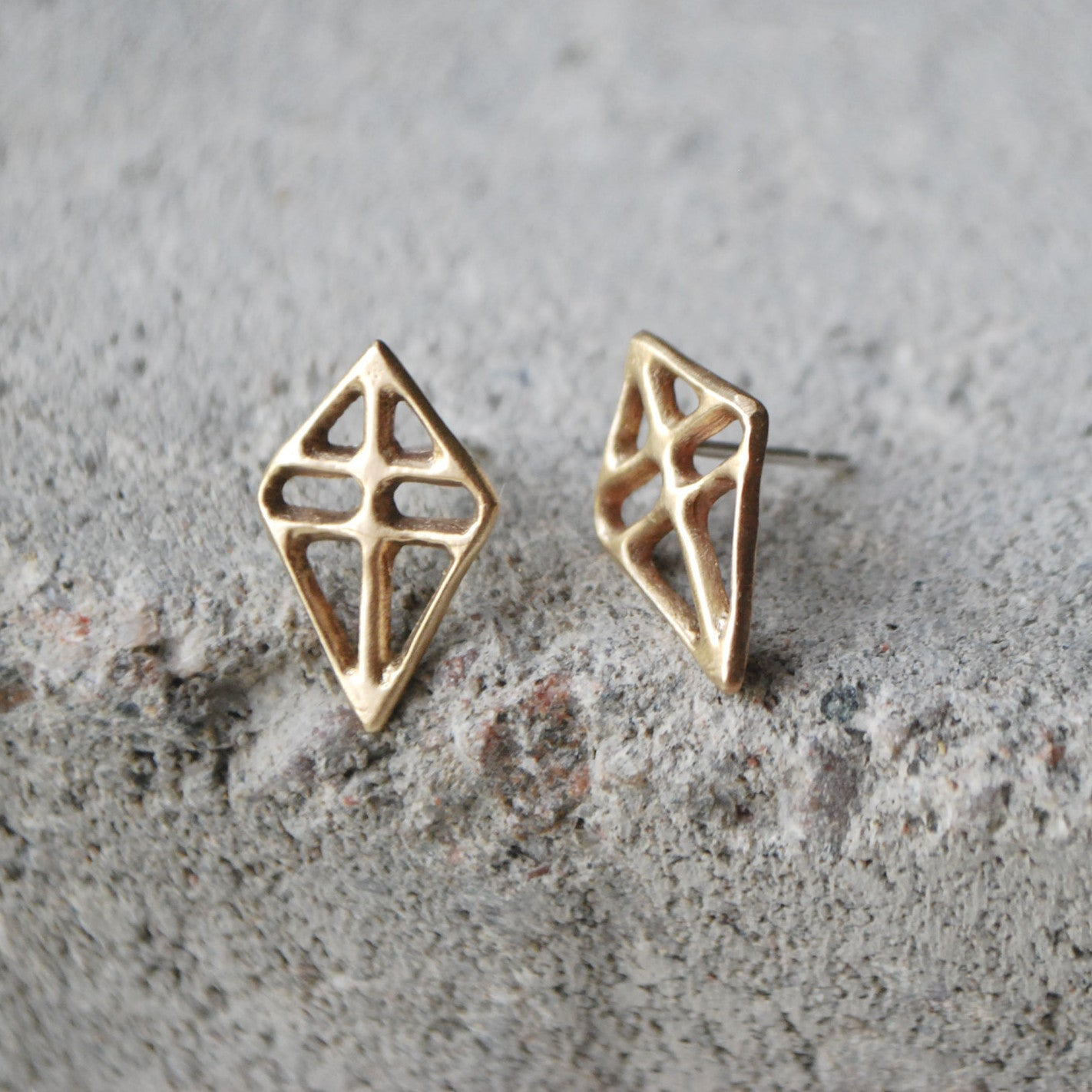 Ruuti Earrings Bronze
