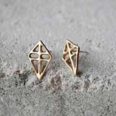 Ruuti ONE Earring Silver or Bronze