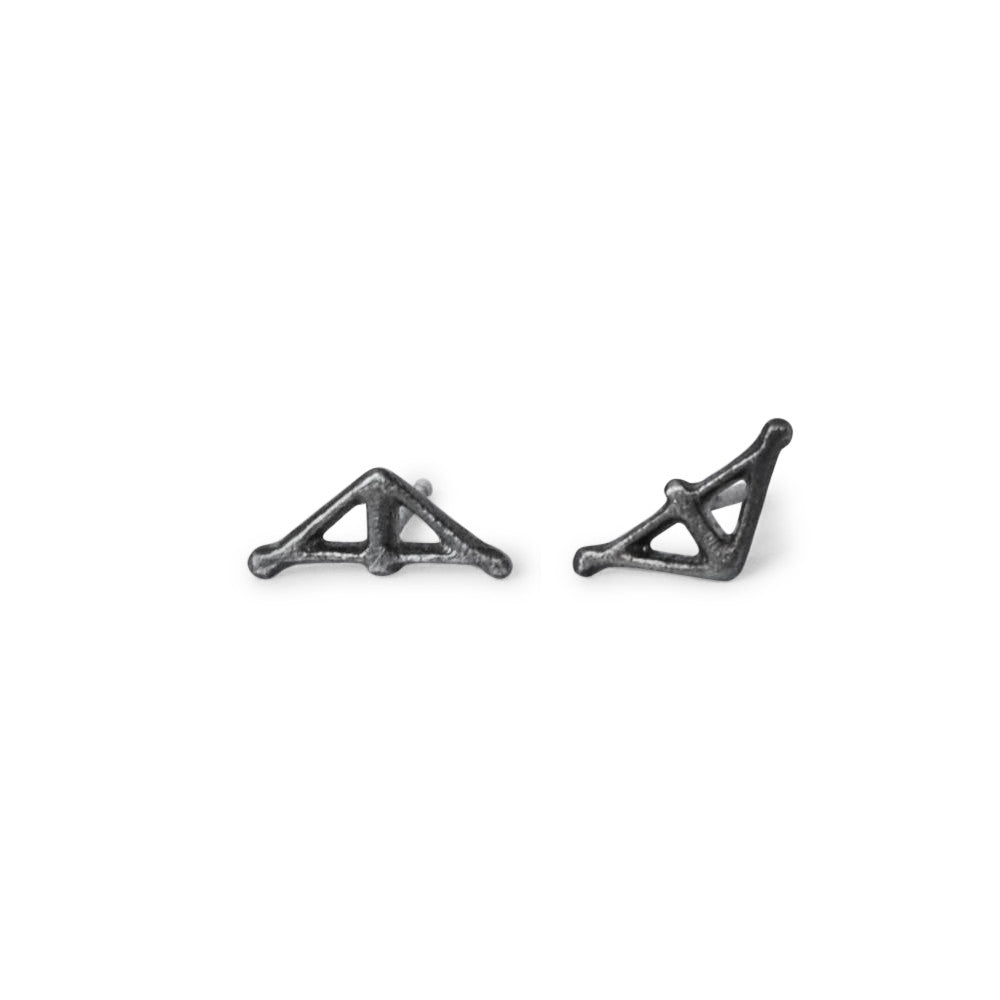 Taika Earrings Silver Small