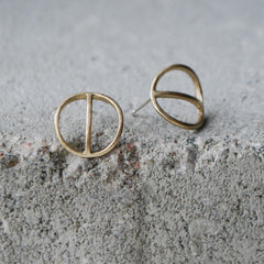 Tyyni Earrings Bronze
