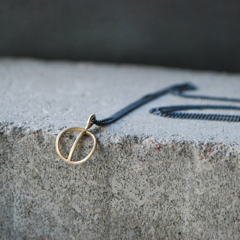 Tyyni Necklace bronze