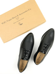 Point Toe Derbys - Black Women's Sizes