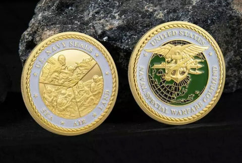 The 2019 Navy SEAL Challenge Coin