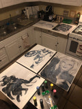 The Marvel Inspired Painting Collection